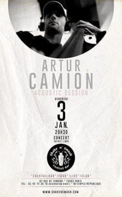Arthur Camion- Acoustic Session