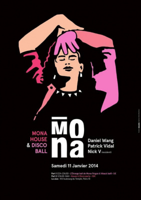 MONA HOUSE & DISCO BALL feat. Patrick Vidal, Daniel Wang & Nick V