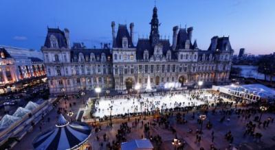 Les Patinoires de Noël à Paris et aux alentours