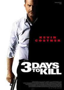 affiche 3 days to kill