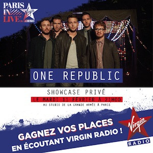affiche onerepublic showcase