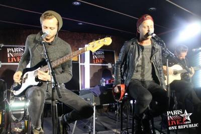 Report : One Republic en showcase privé Paris in Live by Virgin Radio