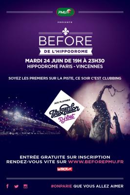 Soirée clubbing et courses hippiques à l'hippodrome de Vincennes