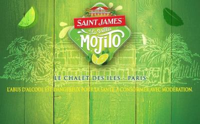 La Villa Mojito Saint James débarque au Chalet des Îles