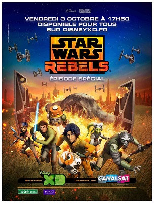 Gagnez vos goodies Star Wars Rebels !
