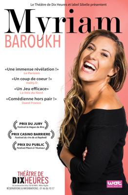 Myriam Baroukh, au Théâtre de Dix Heures