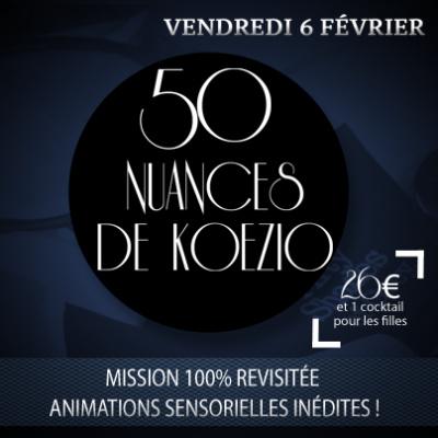 Gagnez vos pass pour l'événement 50 nuances de Koezio 100% filles !