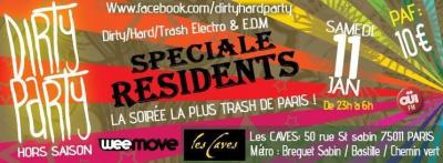 Dirty Party Hors Saison Spéciale Résidents