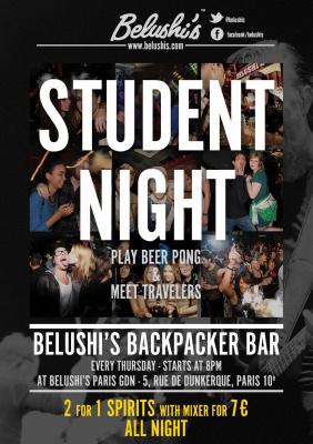 Student Night Belushi's