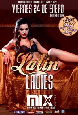 Latin ladies - entrée gratuite @Mix Club