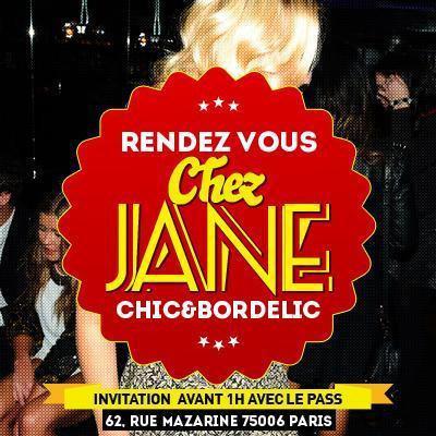 Rendez Vous chez Jane