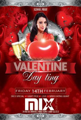 Valentine Day Ting - entrée gratuite @Mix Club