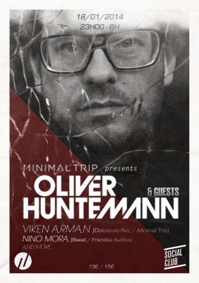 MINIMAL TRIP PRESENTS OLIVER HUNTEMANN