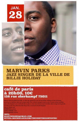 MARVIN PARKS IN CONCERT @ CAFÉ DE PARIS