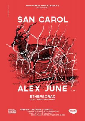 Radio Campus Party // SAN CAROL + ALEX JUNE
