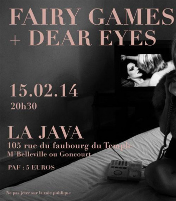 FAIRY GAMES + DEAR EYES