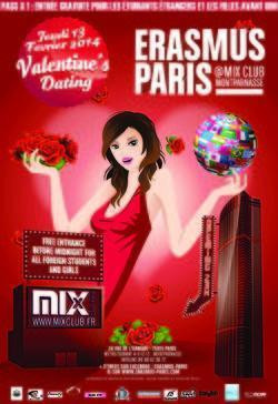 Erasmus Paris : Valentine's Dating