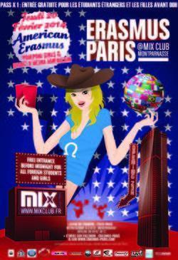 Erasmus Paris : American Erasmus
