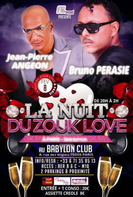 La Nuit du Zouk Love à Paris
