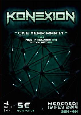 Konexion: One Year Party