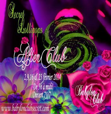 Secret Lollipops Party