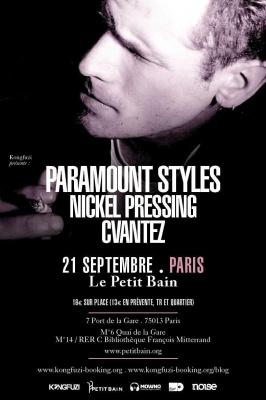 PARAMOUNT STYLES + NICKEL PRESSING + CVANTEZ