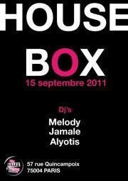 Viens faire Bisou à Maman invite HOUSE BOX
