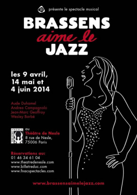 Brassens aime le jazz