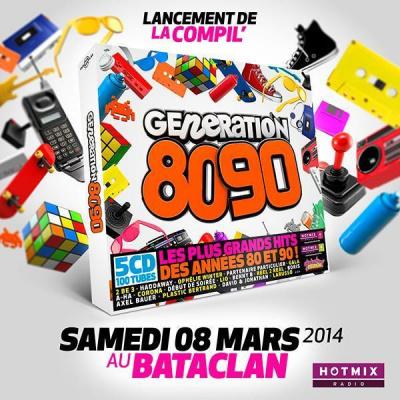 Generation 80-90 : Lancement de la Compil au Bataclan