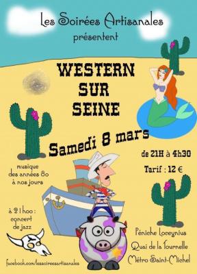 Soirée Western Sur Seine