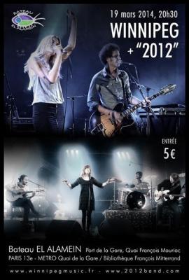 Winnipeg (folk rock) + 2012 (pop low-fi)