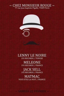 Monsieur Rouge invite 193 Records