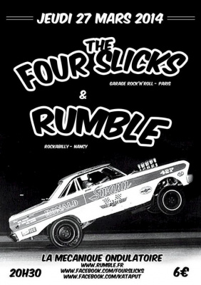 Rumble et The Four Slicks
