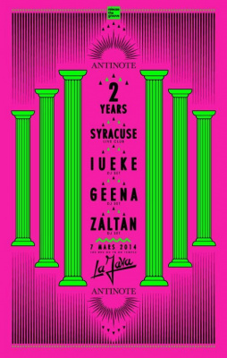 RELEASE THE GROOVE presents ANTINOTE 2 YEARS
