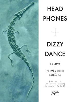 HEADPHONES + DIZZY DANCE