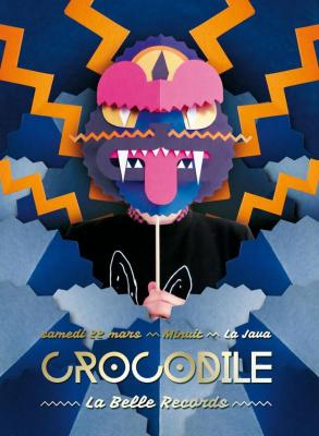 CROCODILE w/ La Belle Records