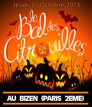 Halloween 2013 : Le Bal des Citrouilles au Bizen