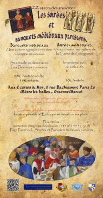 Soirée dansante médiévale aux Ecuries du Roy