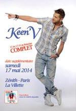 Keen'V en concert au Zénith de Paris en 2014
