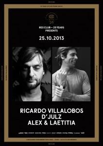 Rex Club « 25 years » avec Ricardo Villalobos