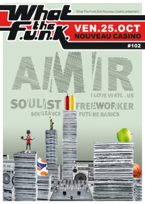 What The Funk #102 au Nouveau Casino avec Amir