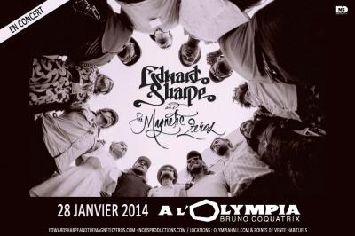 Edward Sharpe & The Magnetic Zeros en concert à l'Olympia en 2014