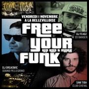 Free Your Funk à La Bellevilloise avec DJ Feadz