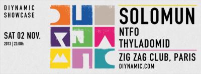 Limelight présente Diynamic Showcase au Zig Zag Club avec Solomun