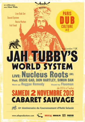 Paris Dub Culture #2 au Cabaret Sauvage
