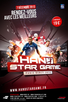 Hand Star Game 2013 à Paris Bercy
