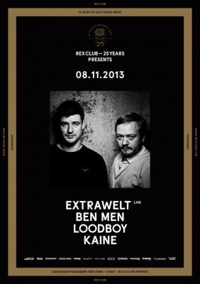 Rex Club « 25 years » avec Extrawelt et Loodboy