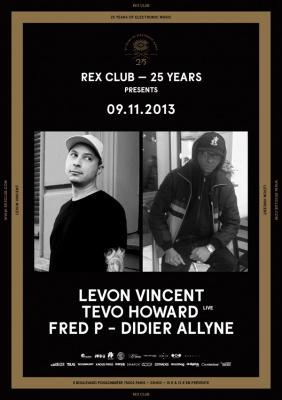 Rex Club « 25 years » avec Levon Vincent