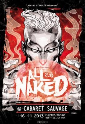 All Naked 2.0 au Cabaret Sauvage : Halloween Massacre avec Razihel