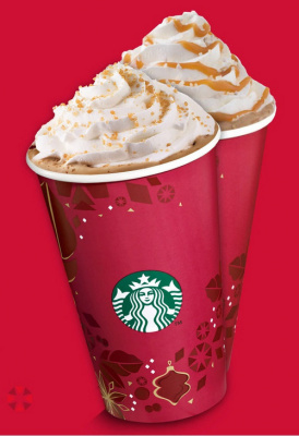 Noël chez Starbucks et ses bons plans